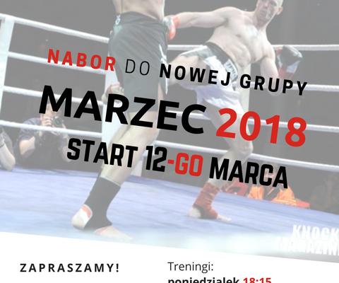 nowy Nabor marzec 2018 muay thai Sosnowiec Gymnazion