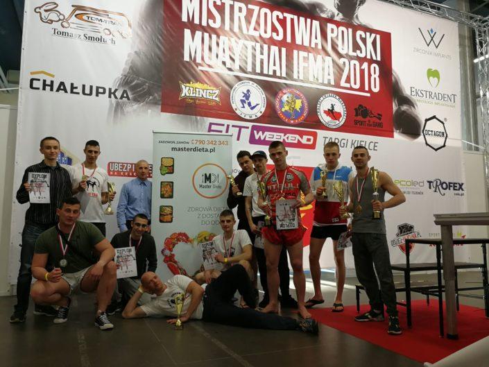 Gymnazion najlepszym klubem Mistrzostw Polski Muay Thai 2018