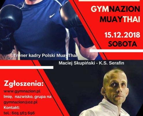 Seminarium Muay Thai z Maćkiem Skupińskim
