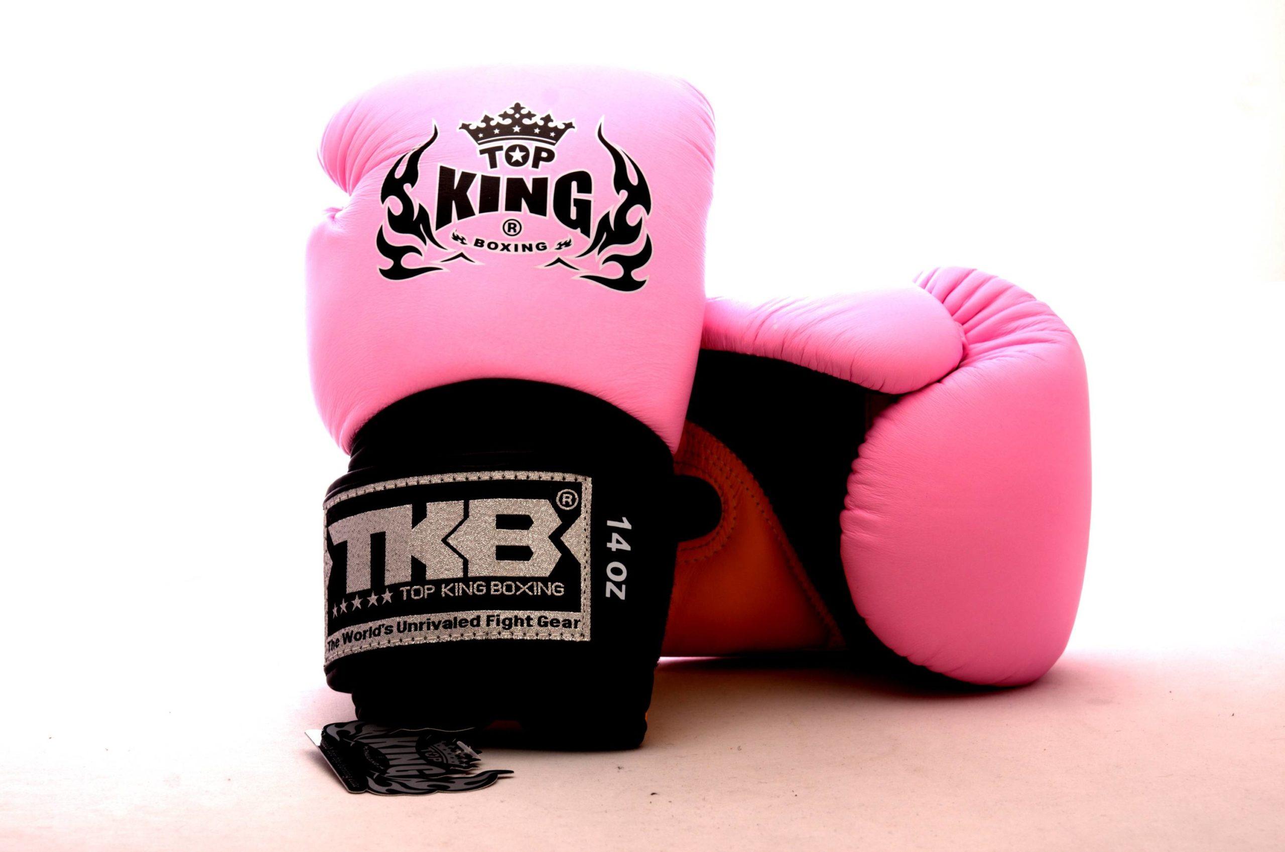 Rękawice bokserskie top king do muay thai